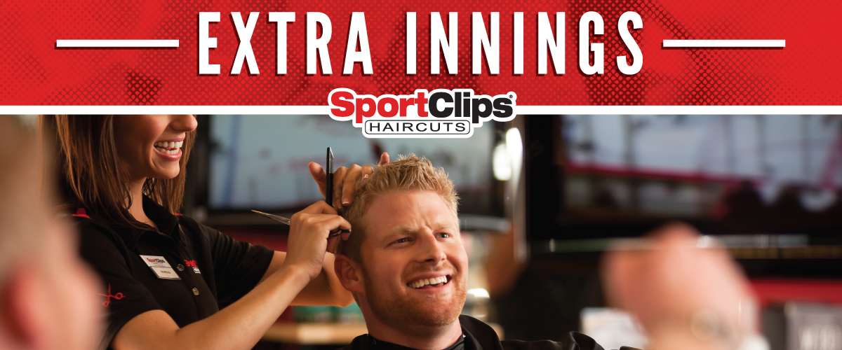 The Sport Clips Haircuts of Long Grove Extra Innings Offerings
